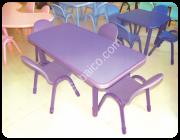 الطاولة المستطيلة