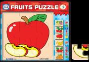 بزل أنواع الفواكه تفاح