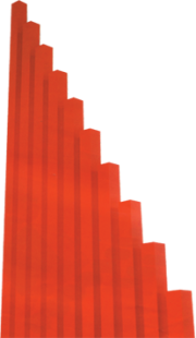 مجموعة القضبان الحمراء الطويلة