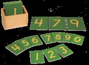 الأرقام الرملية الإنكليزية نافرة