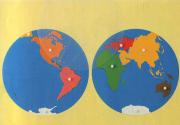 خارطة قارات العالم