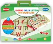 مهارات تعلم الحروف الإنكليزية بالقلم المغناطيسي