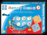 وسيلة تنمية الذاكرة ودقة التركيز للحروف العربية والإنكليزية مع الأعداد