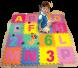 أرضيات الحروف والأعداد الإنكليزية