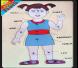 التركيبات التعليمية لأقسام الجسم أنثى إنكليزي