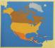 بزل قارة أمريكا الشمالية
