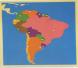 بزل قارة أمريكا الجنوبية